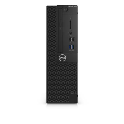 Dell pc: OptiPlex 3050 - Core i5 - 8GB RAM - 256GB - Zwart