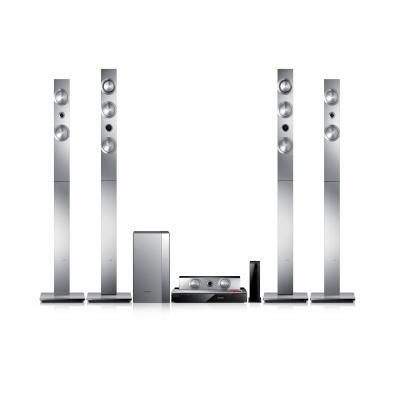 Samsung home cinema system: HTF9750W - Zwart, Zilver