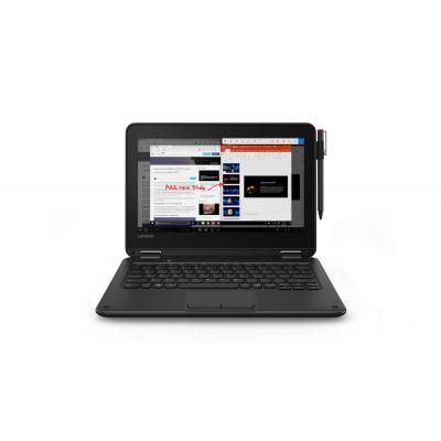 Lenovo 300e laptop - Zwart