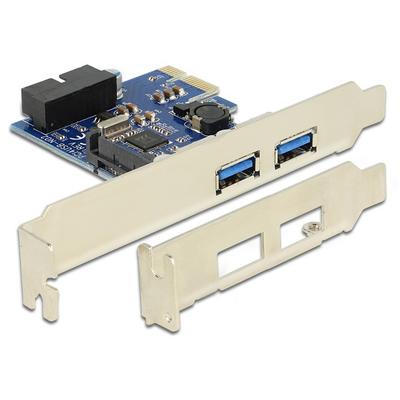 DeLOCK 89315 Interfaceadapter - Blauw, Wit