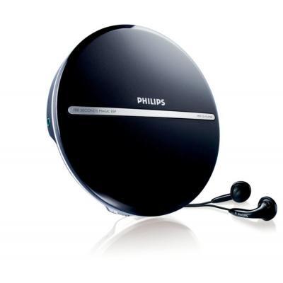 Philips CD speler: Draagbare MP3-CD-speler EXP2546/12 - Zwart, Zilver