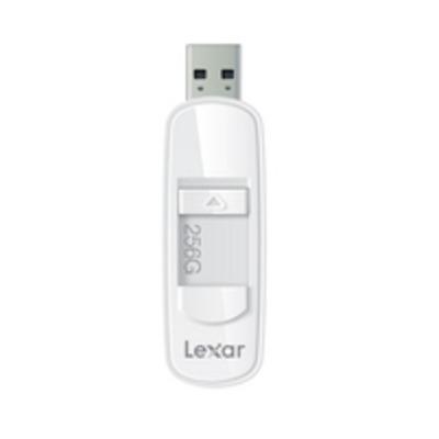 Lexar USB flash drive: JumpDrive S75 256GB - Wit