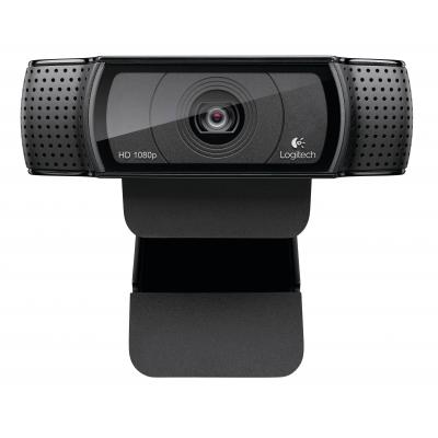 Logitech webcam: C920 - Zwart