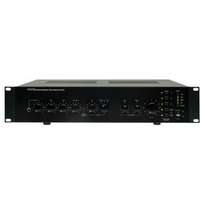 Apart reciever: 100 volt mixing amplifier 200 Watts - Zwart