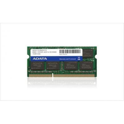 Adata RAM-geheugen: 2GB DDR3 SO-DIMM Kit