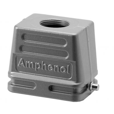 Amphenol NBR, PA, IP65, E6 Multipolaire connector-behuizing - Metallic