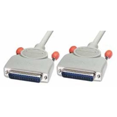 Lindy RS232, 2m Netwerkkabel - Grijs