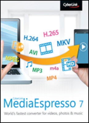 Cyberlink tekstverwerker: MediaEspresso 7 (download versie)