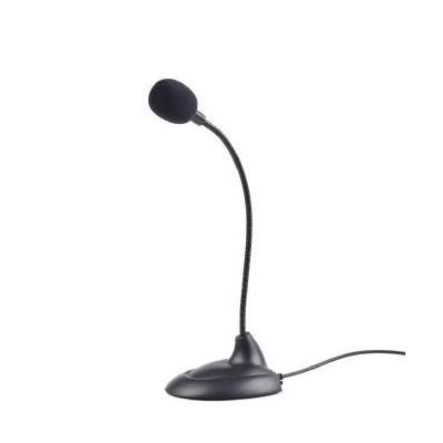 Gembird microfoon: Omni-directional, 50 Hz - 16 kHz - Zwart