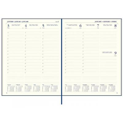 Staples agenda: Agenda SPLS Paris 170x220 7d2p 6t blauw