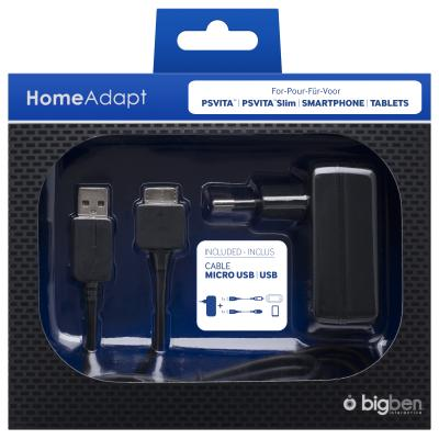 Bigben interactive batterij: Big Ben, Power Adaptor for PS Vita / PS Vita Slim