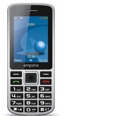 Emporia Mobiltelefone mobiele telefoon - Zwart, Grijs