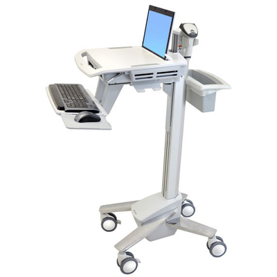 Ergotron StyleView EMR Laptop Cart Multimedia kar & stand - Wit