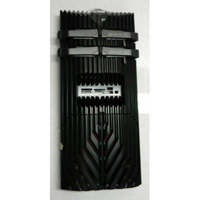 Acer Computerkast onderdeel: Front Panel, Black - Zwart