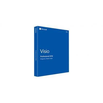 Microsoft software licentie: Visio Professional 2016