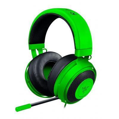 Razer headset: Kraken Pro V2 - Zwart, Groen