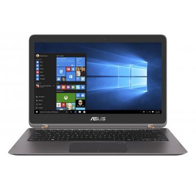 """Asus laptop: ZenBook Flip 13.3"""" ,256GB SSD, i5, 8GB RAM  - Grijs, Metallic"""