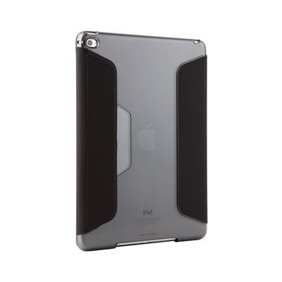 STM Studio Tablet case - Zwart, Doorschijnend