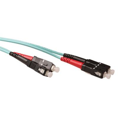 Ewent 5 meter LSZH Multimode 50/125 OM3 glasvezel patchkabel duplex met SC connectoren Fiber optic kabel - .....