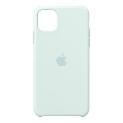 Apple Siliconenhoesje voor iPhone 11 Pro Max - Zachtgroen Mobile phone case - Aqua-kleur