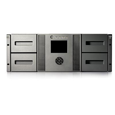 Hewlett packard enterprise tape autoader: HP StorageWorks MSL4048 2 LTO-5 Ultrium 3000 Fibre Channel Tape Library