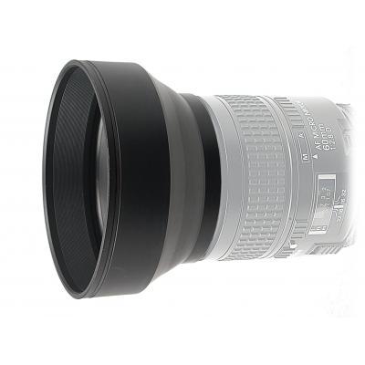 Kaiser fototechnik lenskap: 3-in-1 Lens Hood, 49 mm - Zwart
