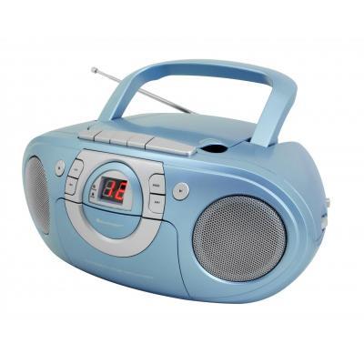 Soundmaster CD-radio: SCD 5100 - Blauw