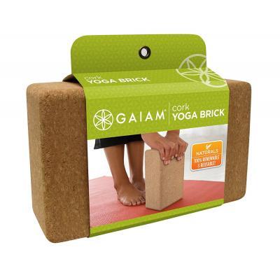 Gaiam fitness, gymnastiek & gewichtstraining: Yogablok - Kurk