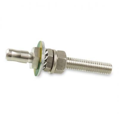 Baaske Medical PE panel connector complete 6/35 Elektrische complete connector - Metallic