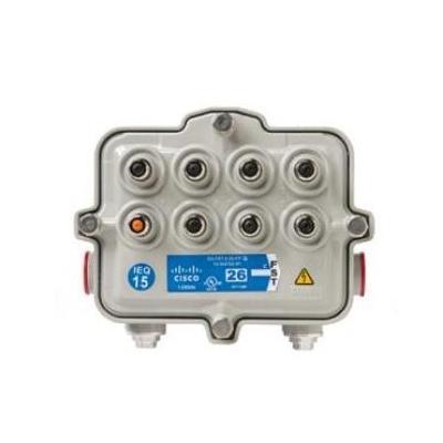 Cisco kabel splitter of combiner: Flexible Solutions Tap Fwd EQ 1.25GHz 15dB (Multi=8) - Grijs
