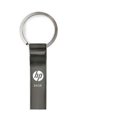 Pny USB flash drive: HP v285w 64GB - Roestvrijstaal