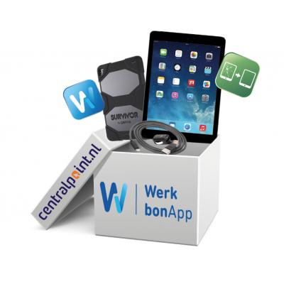Apple iPad Werkbon box 3 -Pro 9.7'' Wi-Fi + Cellular 32GB Space Gray tablet - Grijs