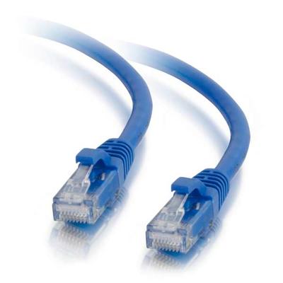 C2G 1 m Cat5E UTP LSZH netwerkpatchkabel - Blauw Netwerkkabel