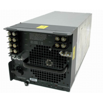 Cisco power supply unit: PWR-4000-DC-RF - Zwart