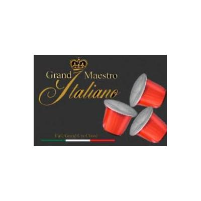 Grand maestro italiano koffie: Grande (Espresso) voor Nespresso® machine 100 capsules
