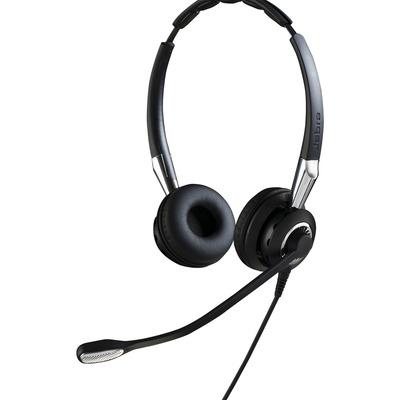Jabra Biz 2400 II QD Duo NC WideBand Headset - Zwart