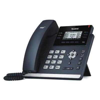 Yealink SIP-T42S IP telefoon - Zwart