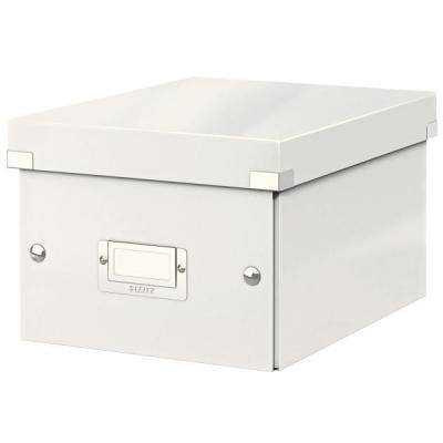 Leitz archiefdoos: Click & Store kleine doos - Wit