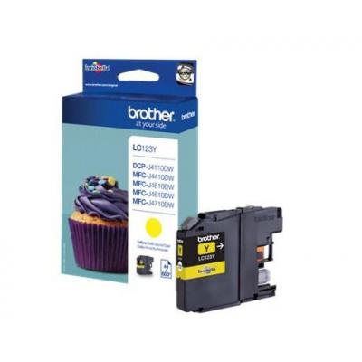Brother LC-123Y inktcartridge