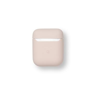 ESTUFF AirPods Silicone Case Sand Koptelefoon accessoire - Roze