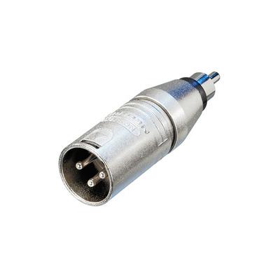 Neutrik NTR-NA2MPMM Kabel adapter - Zilver