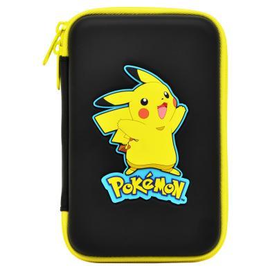Hori apparatuurtas: Hori, Pikachu Hard Pouch (Black)  3DS XL