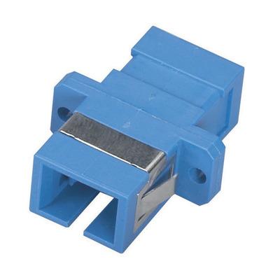 Black Box Fiber Optic Coupling, SC–SC, Rectangular Mounting, Multimode, Simplex, Bronze Sleeve, Plastic .....