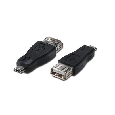 Digitus DK-300507-000-S Kabel adapter - Zwart, Zilver