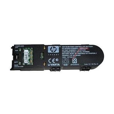 Hewlett Packard Enterprise Battery 4.8V, 500mAh, Ni-MH, Black - Zwart