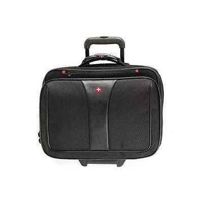 Wenger/swissgear laptoptas: PATRIOT Wheeled Computer Case - Zwart