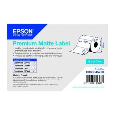 Epson etiket: Premium Matte