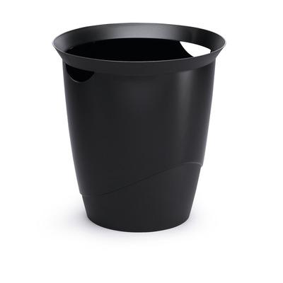 Durable prullenbak: TREND - Zwart