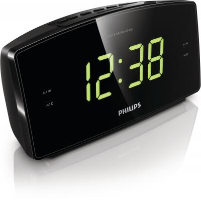 Philips radio: Klokradio AJ3400/12 - Zwart