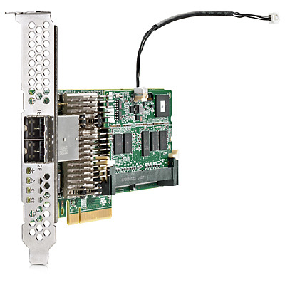 Hewlett packard enterprise raid controller: Smart Array P441/4GB FBWC 12Gb 2-ports Ext SAS